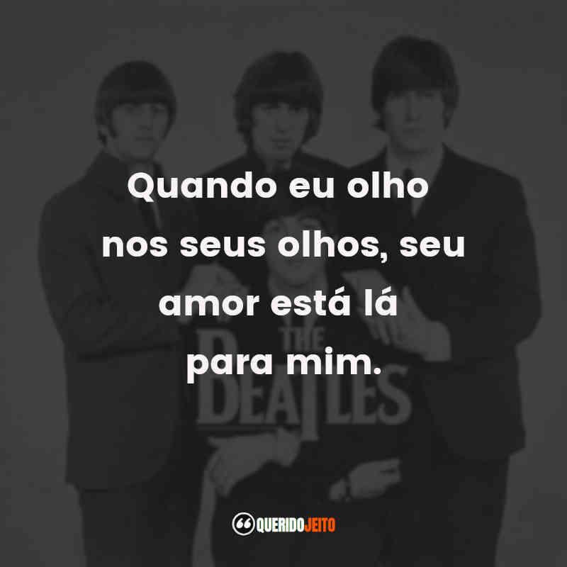 Mensagens The Beatles Frases