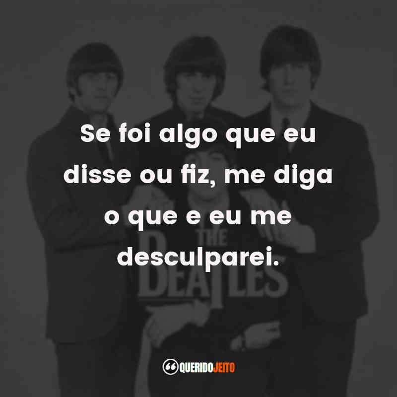 Músicas The Beatles Frases