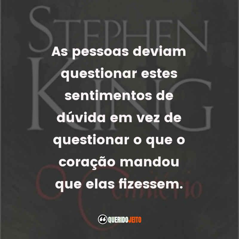 Frases O Cemitério de Stephen King
