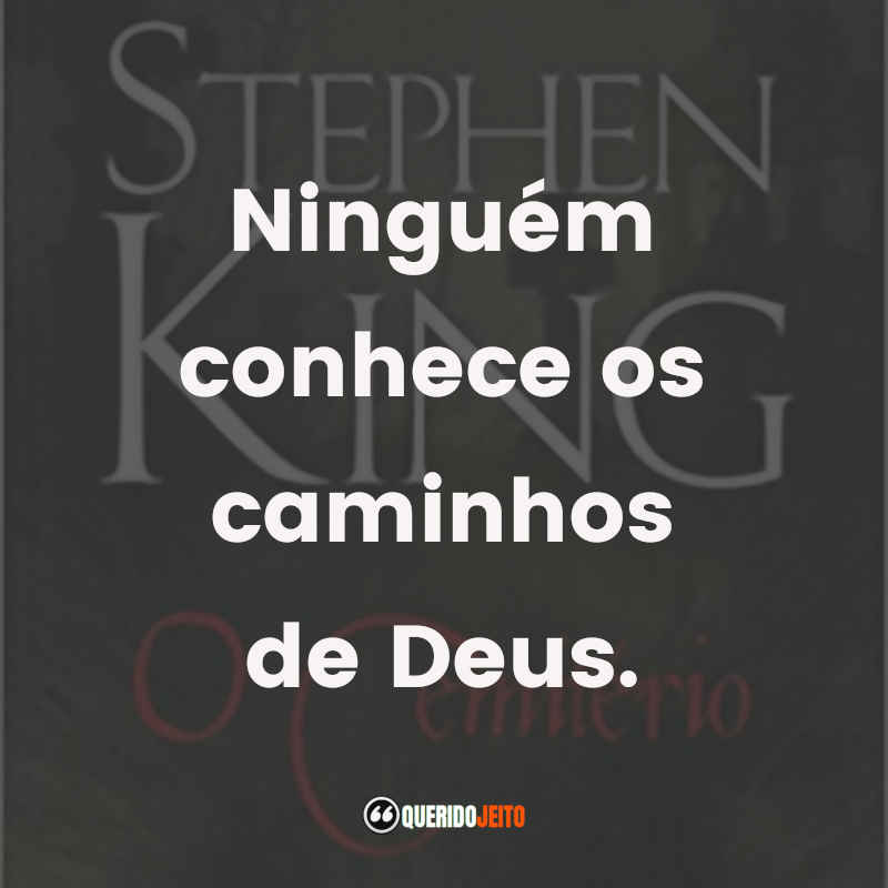 Frases Stephen King O Cemitério