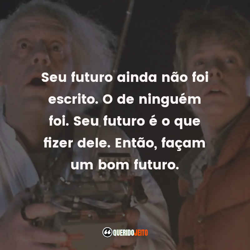 Back to the Future Frases