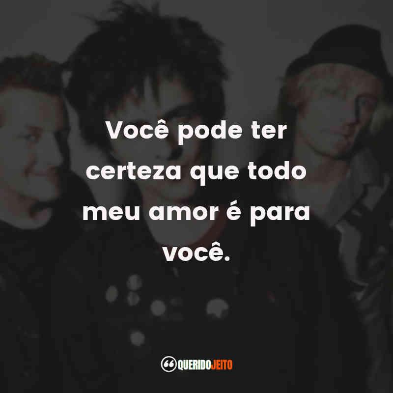 Pensamentos Green Day Frases