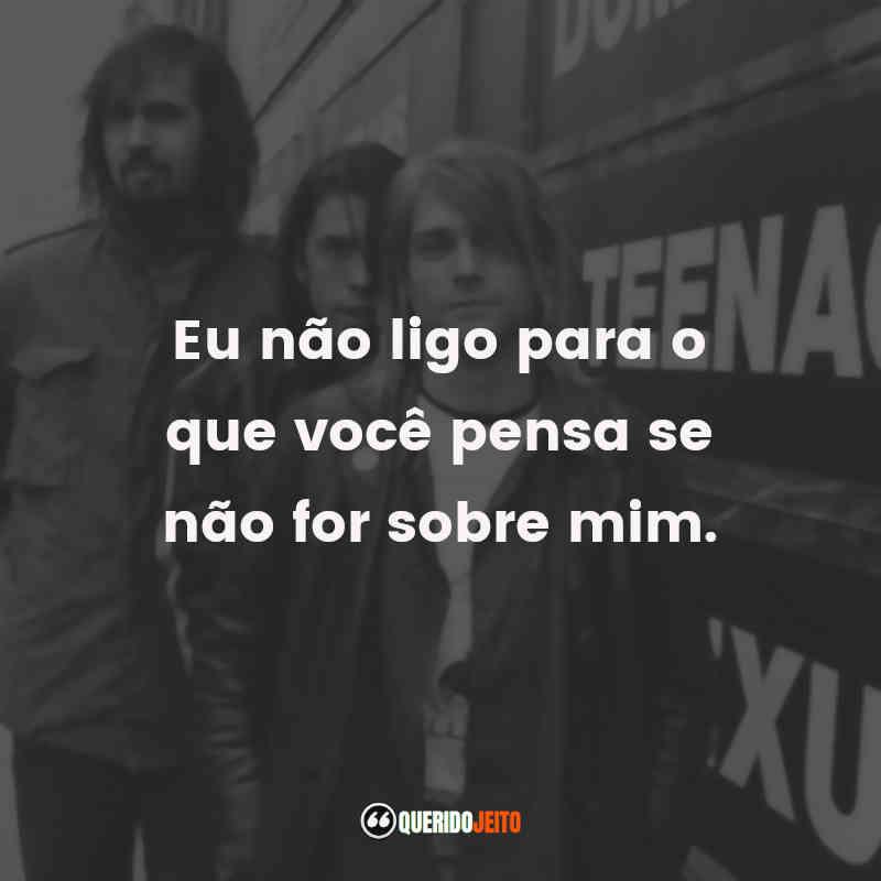 Frases de Músicas Nirvana