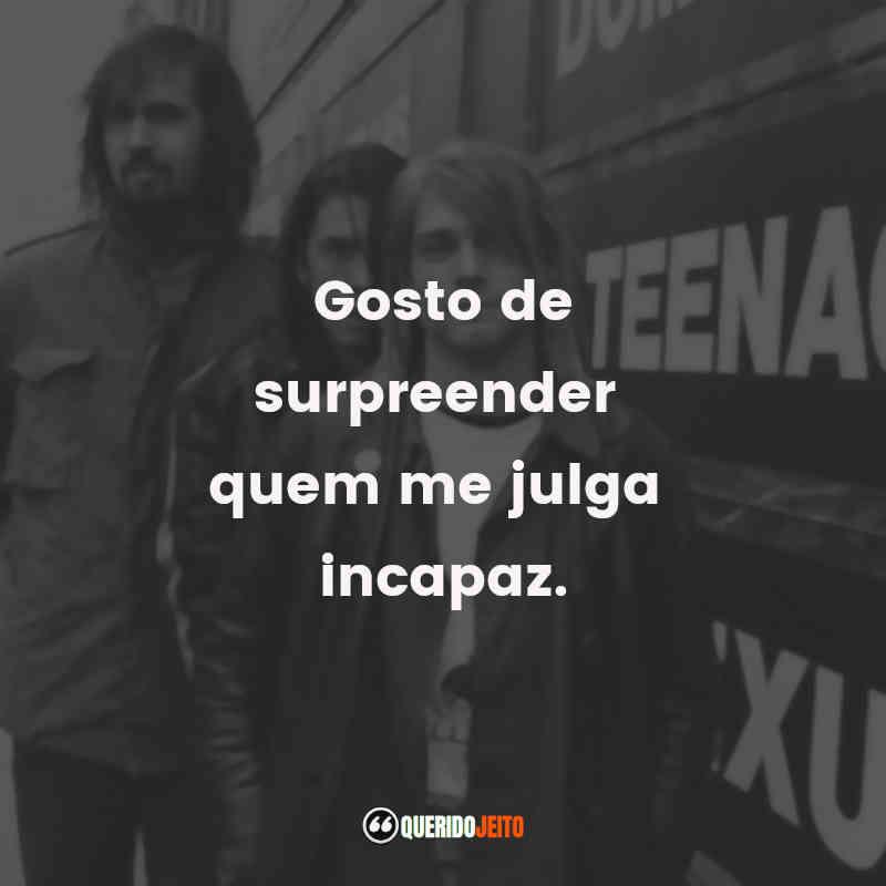 Kurt Cobain Mensagens