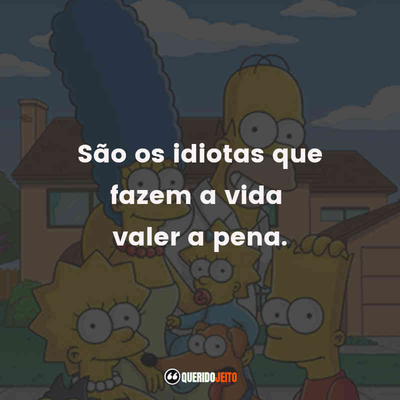 Legendas Os Simpsons Frases