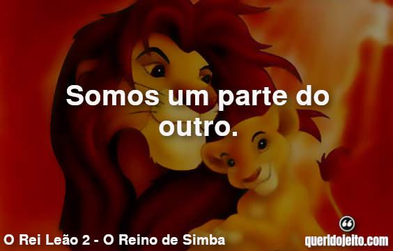 As melhores frases do filme O Rei Leão 2