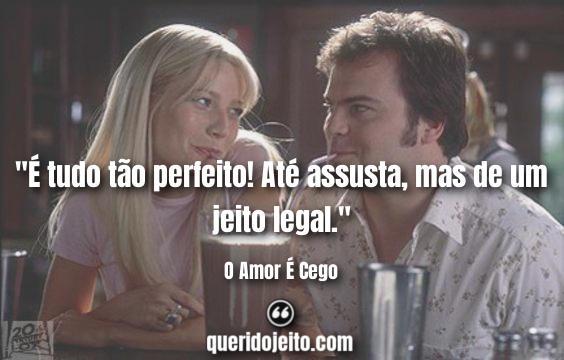 Frases O Amor É Cego tumblr, Frases Hal Larson.