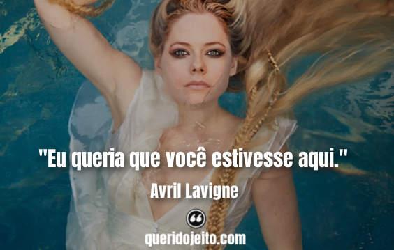 Frases Avril Lavigne facebook, Frases Head Above Water Avril Lavigne Traduzidas,