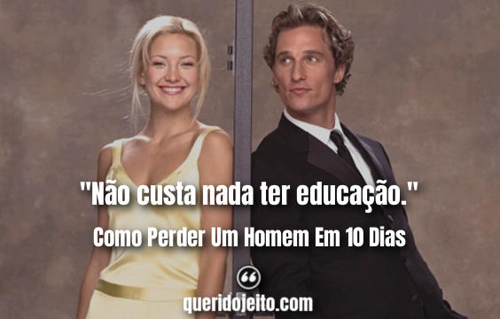 Frases Andie Anderson, Frases Benny.
