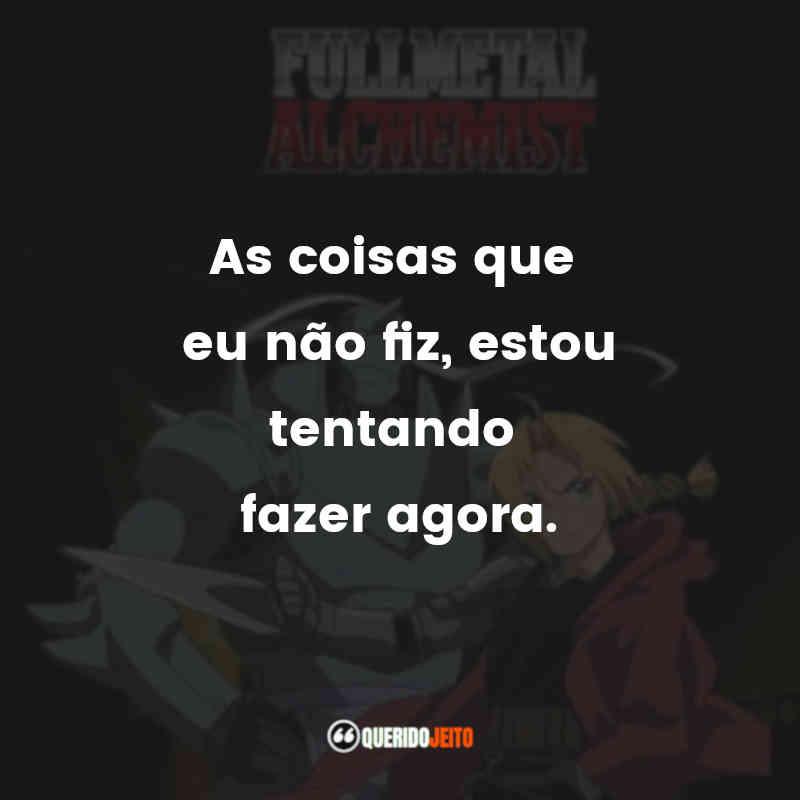 Frases de Fullmetal Alchemist