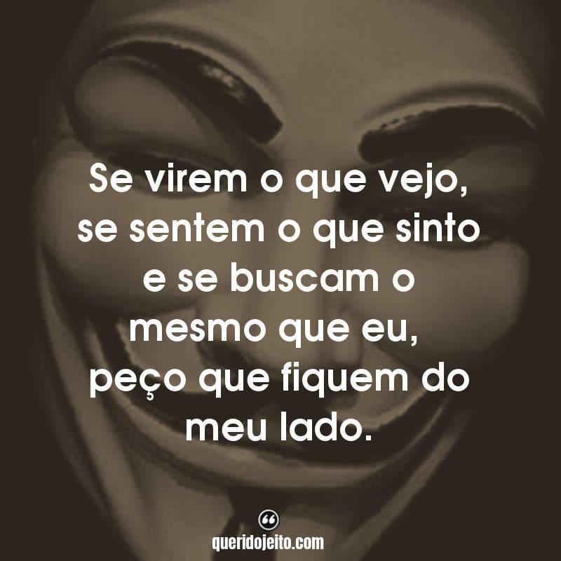 Frases V de Vingança facebook