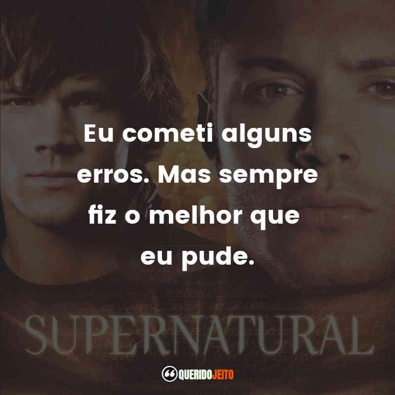 Frases 2 temporada de Supernatural