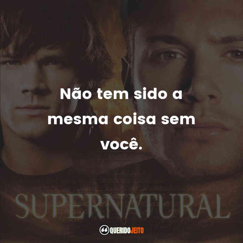 Frases 2ª temporada de Supernatural