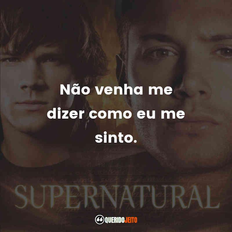 Segunda Temporada de Supernatural Frases