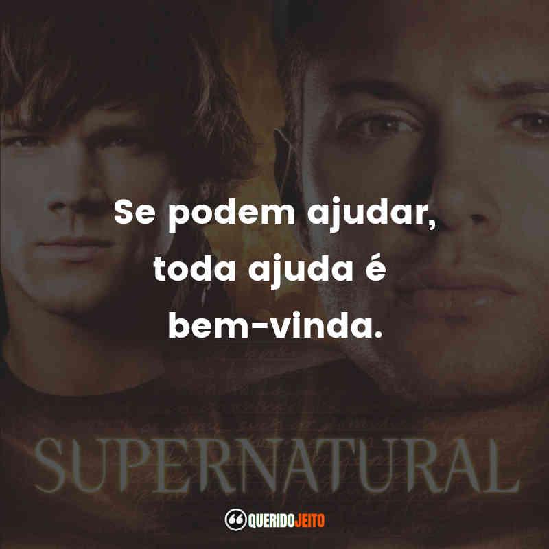 Mensagens de Supernatural Dois