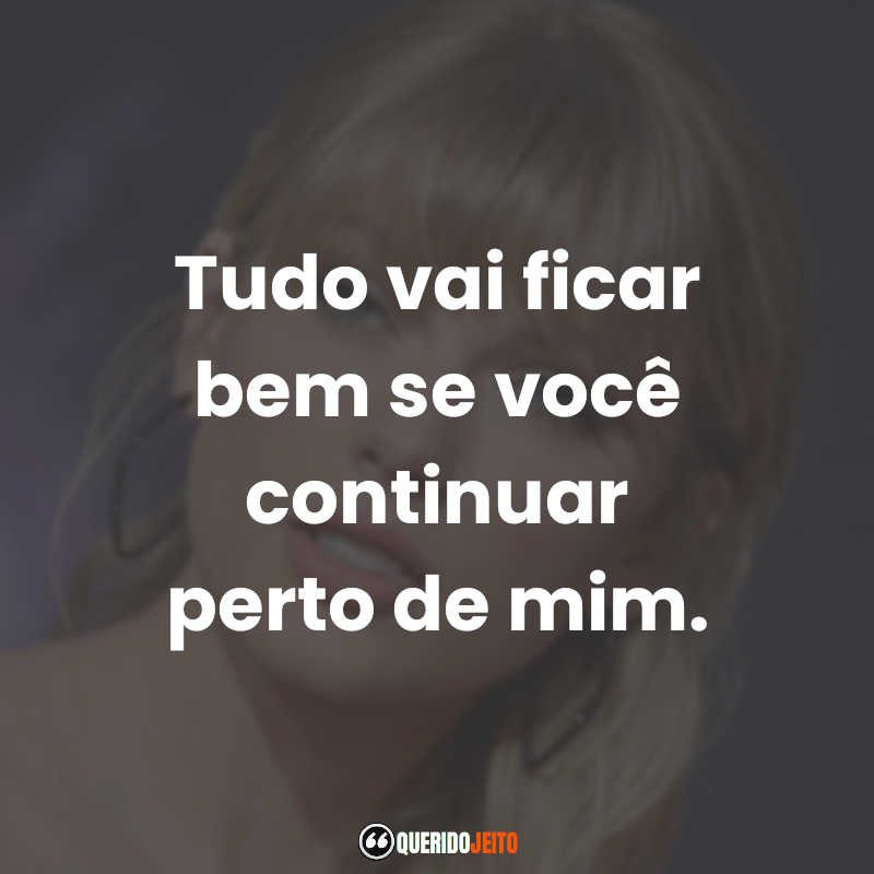 Frases de Taylor Swift Legendas