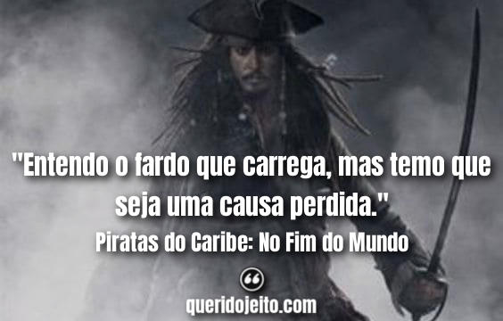 Frases do Terceiro Filme Piratas do Caribe, Frases Davy Jones,