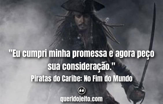 Frases Pirates of the Caribbean: At World's End, Quotes Jack Sparrow,