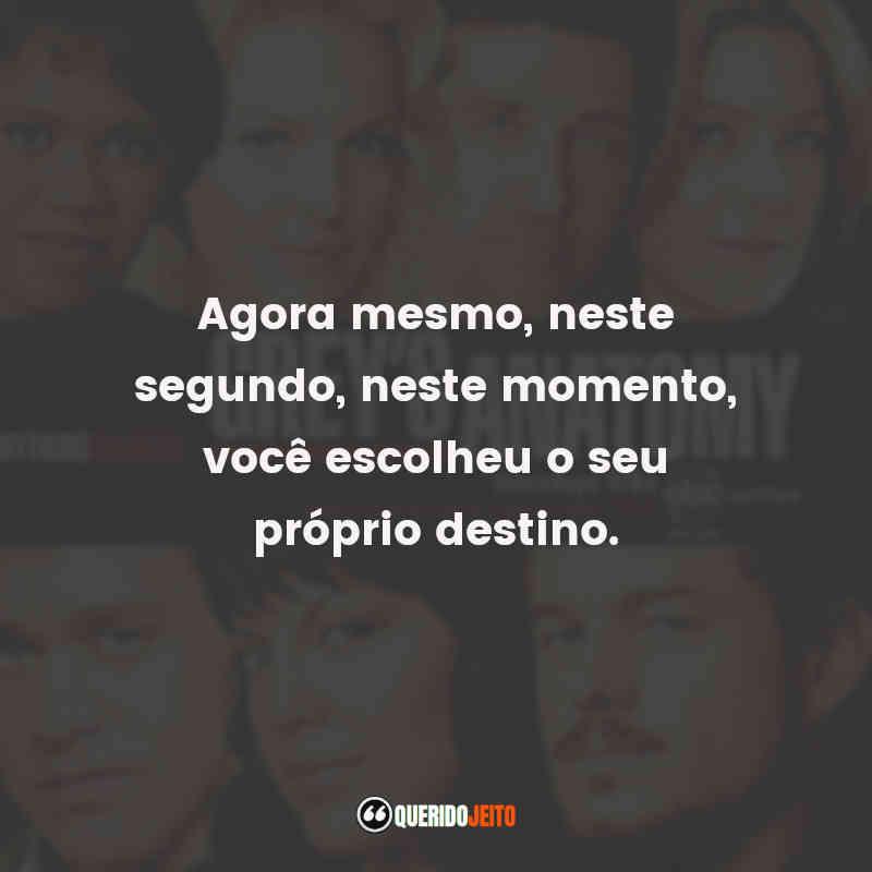 Grey's Anatomy 3 Frases