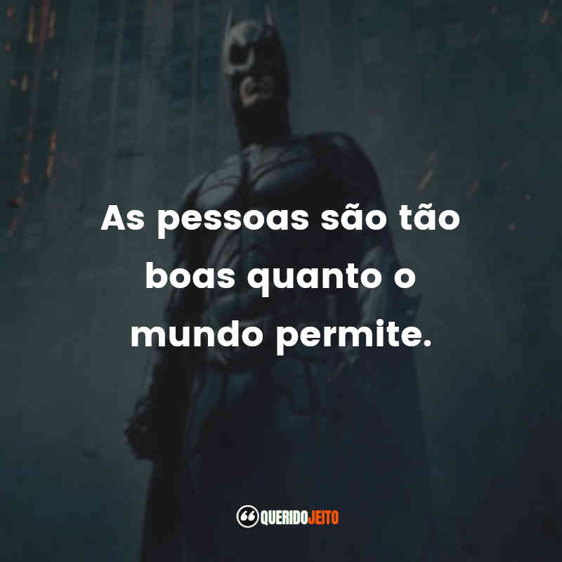 Frases do Batman: O Cavaleiro das Trevas