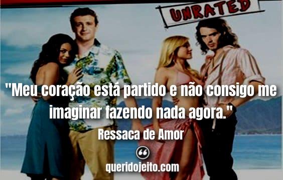 Frases Ressaca de Amor facebook, Pensamentos Ressaca de Amor Filme, Frases Rachel Jansen,