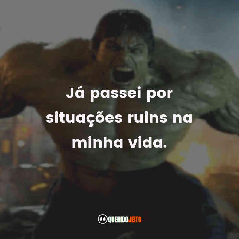 Mensagens do O Incrível Hulk
