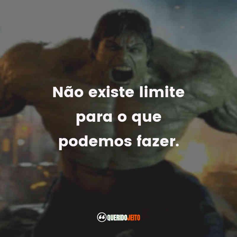 Pensamentos do O Incrível Hulk