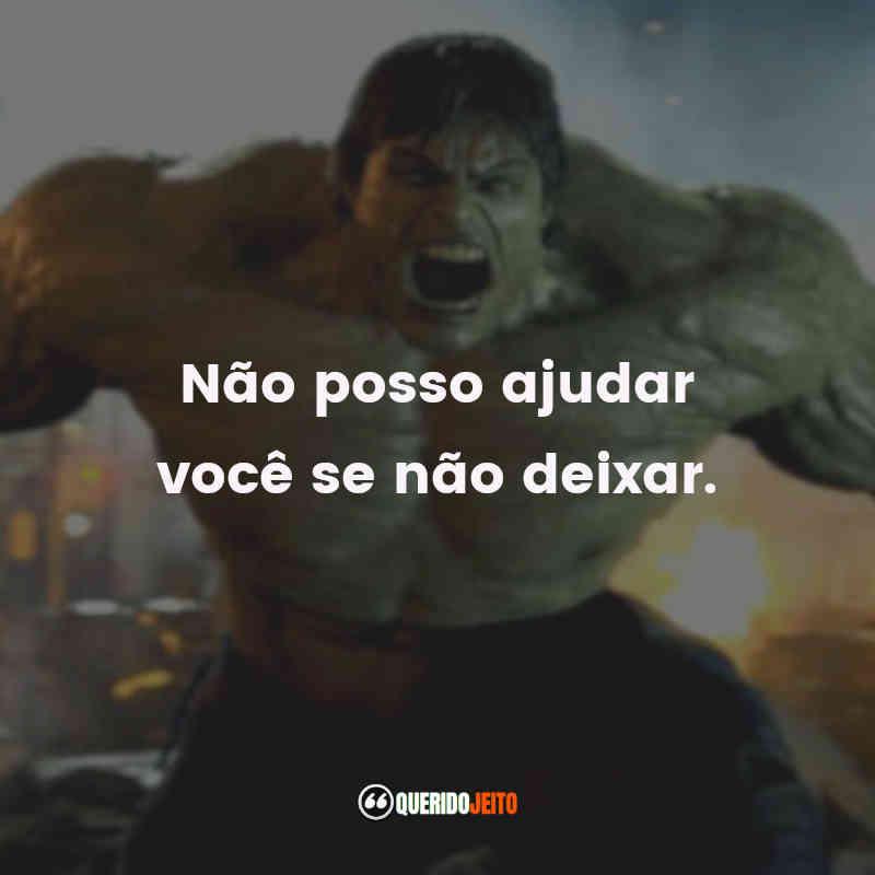 Legendas de O Incrível Hulk