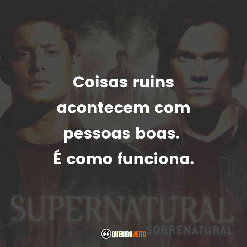 Supernatural - 4ª temporada Frases