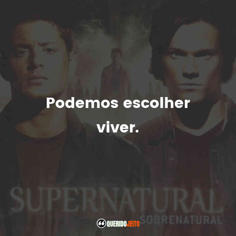 Frases Supernatural 4 temporada