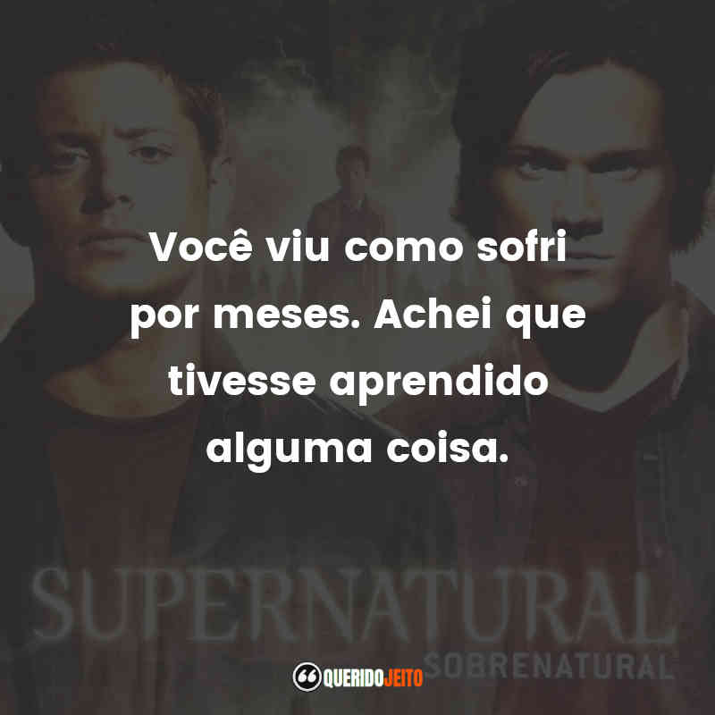 Frases do Bobby Singer