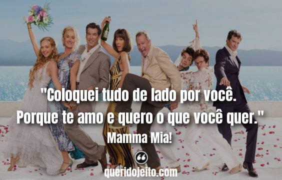 Frases Mamma Mia!, Frases Sophie Carmichael,