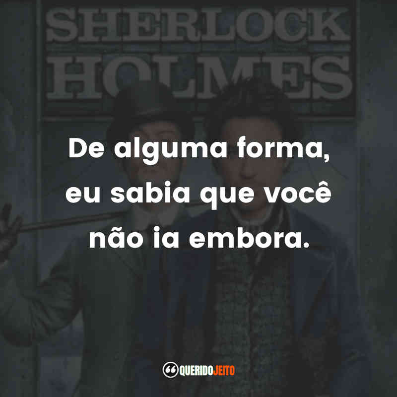 Frases Sherlock Holmes