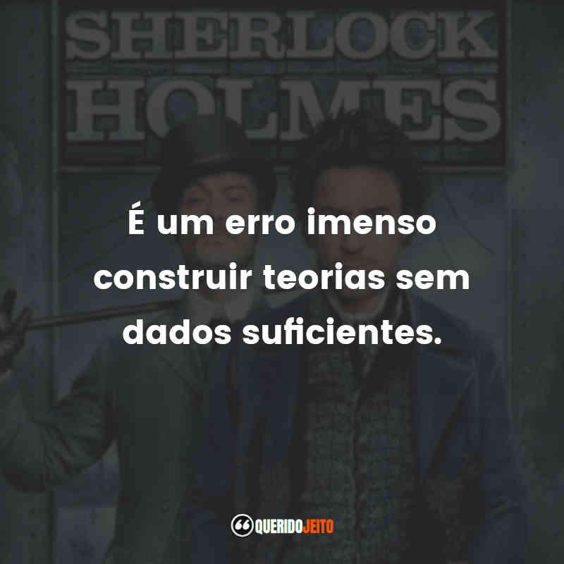Sherlock Holmes Frases