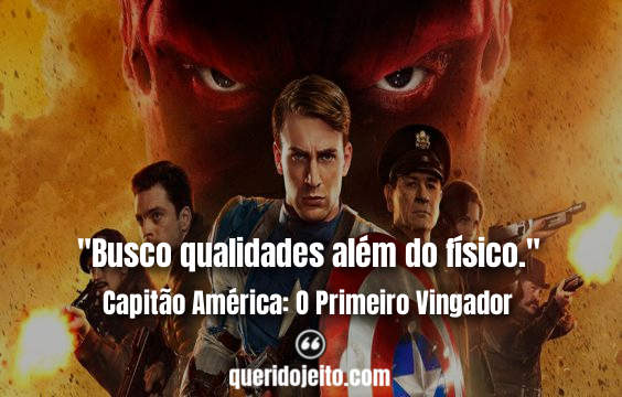 Frases Capitão América: O Primeiro Vingador tumblr, Frase com capitão, Frases Capitão América um, Frases do primeiro Capitão América, Frases Howard Stark,