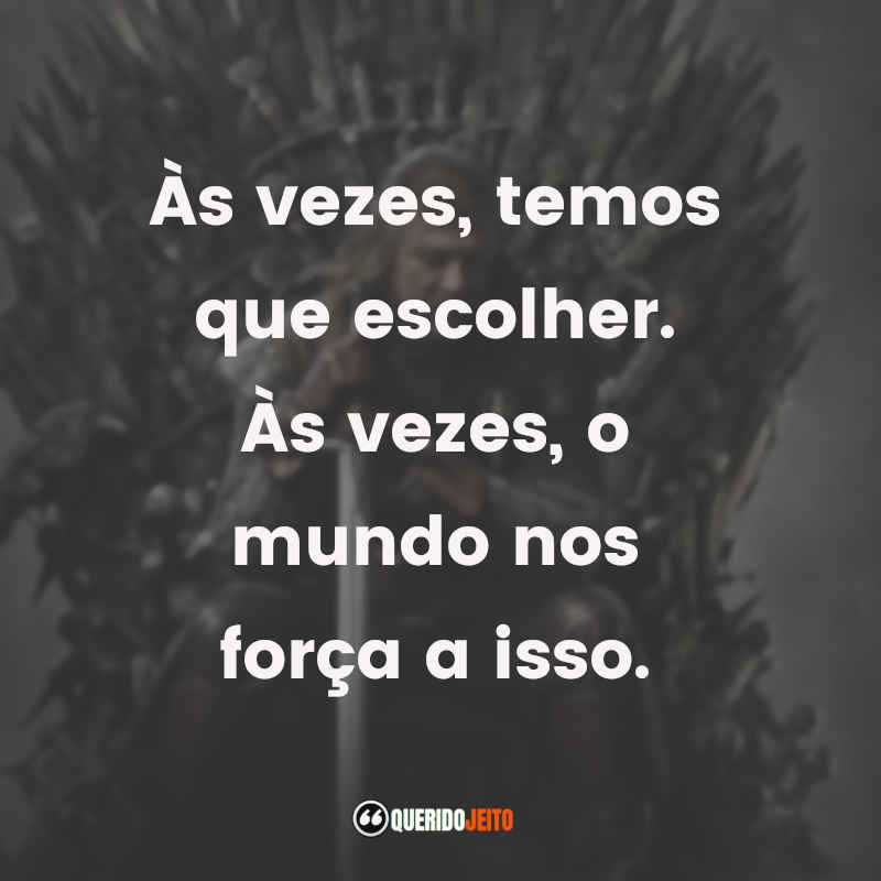 Frases Game of Thrones tumblr