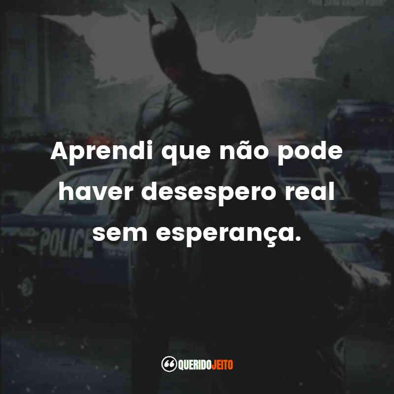Frases Batman: O Cavaleiro das Trevas Ressurge