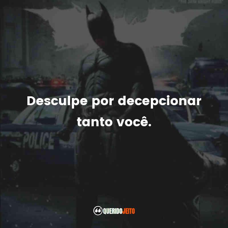 Frases do Batman: O Cavaleiro das Trevas Ressurge