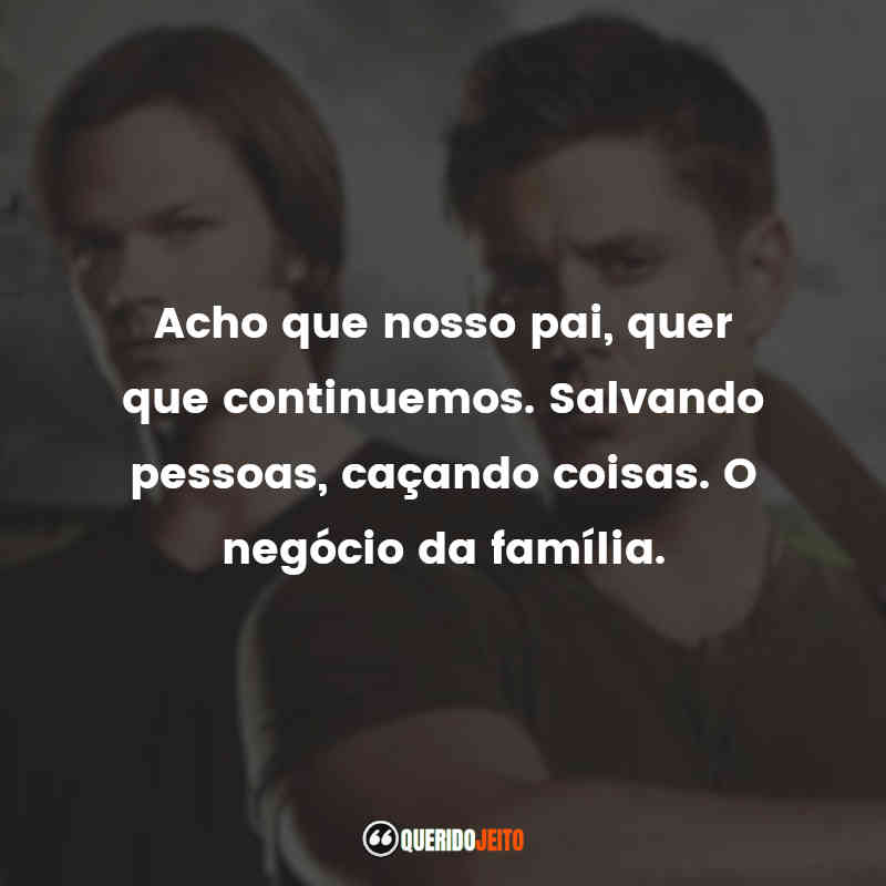 Frases Supernatural - 8ª temporada