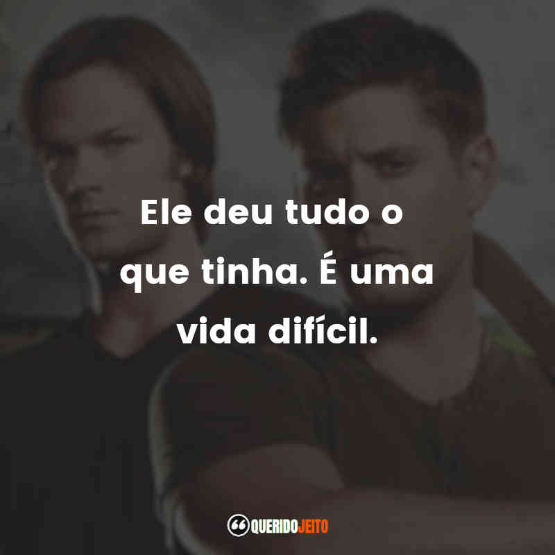 Supernatural - 8ª temporada Frases