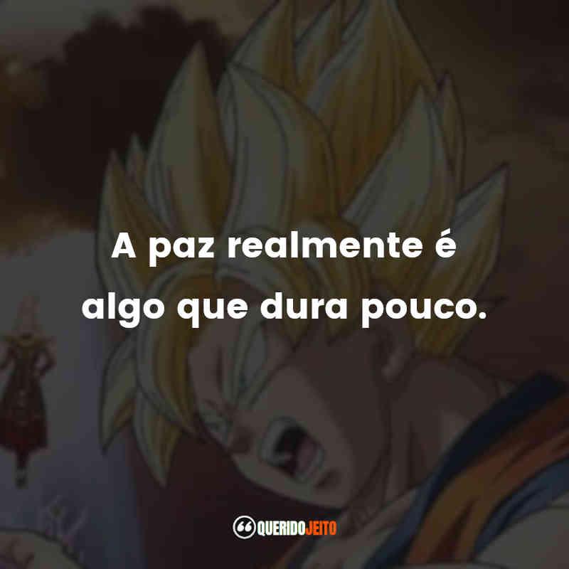 Frases Dragon Ball Z: A Batalha dos Deuses