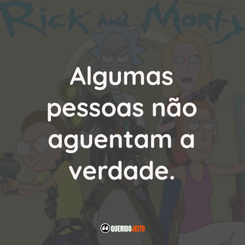 Frases do Rick and Morty