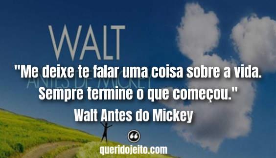 Frases Charlotte Disney, Frases Walt Antes do Mickey twitter,