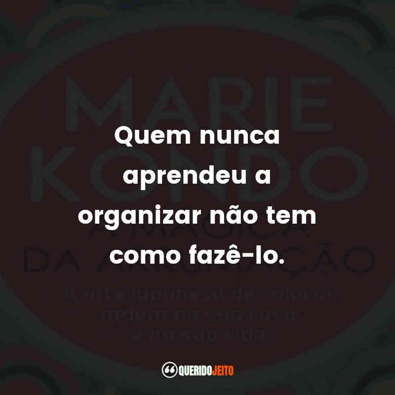 Marie Kondo Mensagens