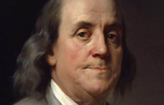 Frases e Citações de Benjamin Franklin