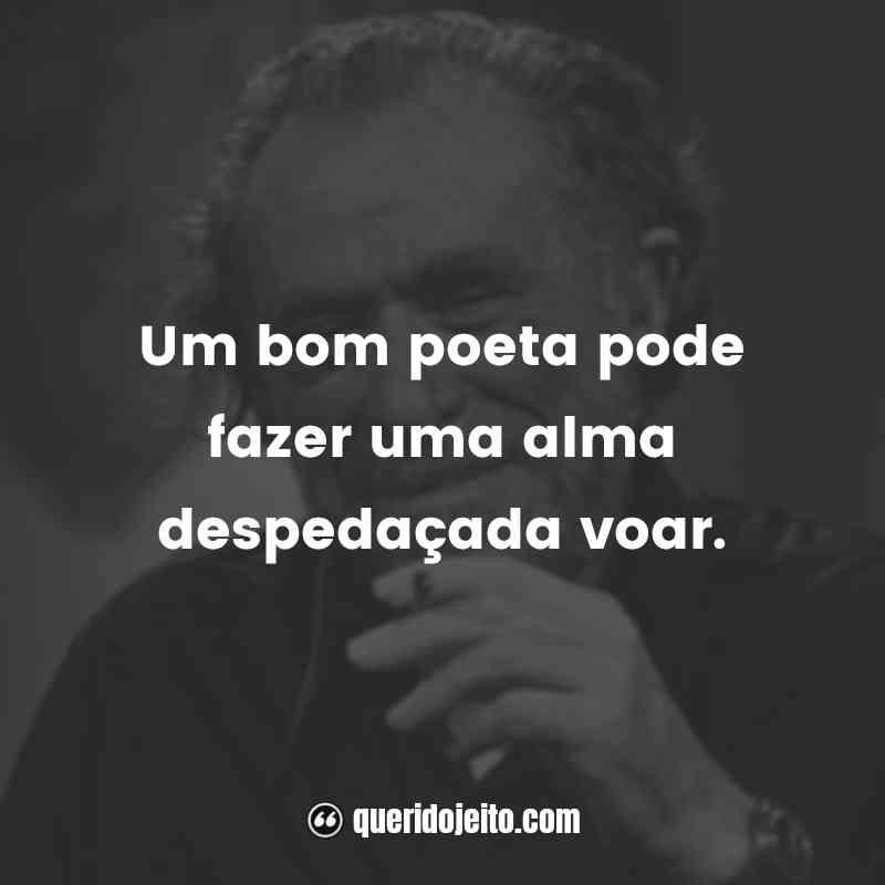 """""""Um bom poeta pode fazer uma alma despedaçada voar."""""""