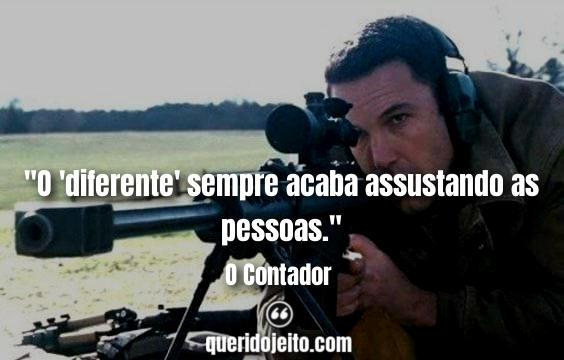 Frases O Contador Filme, Frases Marybeth Medina.