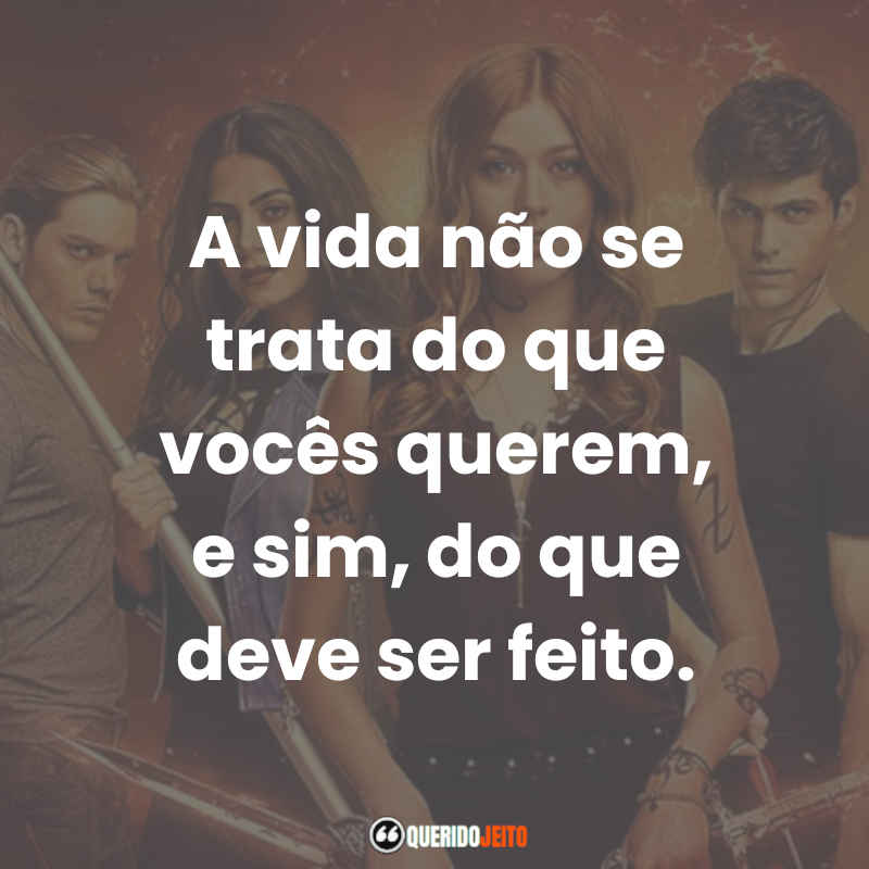 Shadowhunters Frases