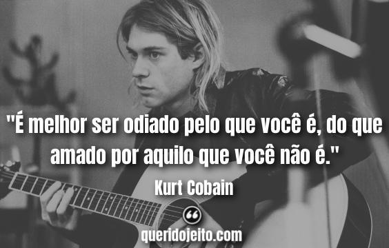Frases do Kurt Cobain.