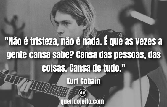 Kurt Cobain Frases tumblr.
